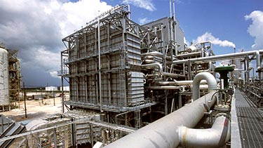 Hydrogen production facility in Port Arthur, Texas, U.S.