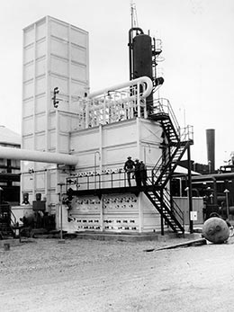 Spencer Chemical 200-ton-per-day oxygen-nitrogen plant, Vicksburg, MS, January, 1953