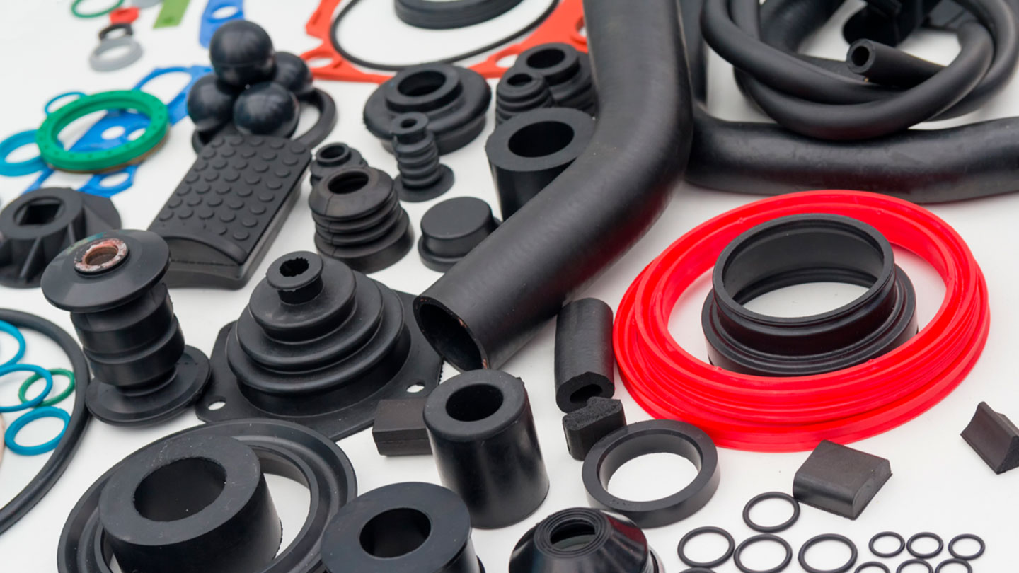 Various rubber products and sealing products